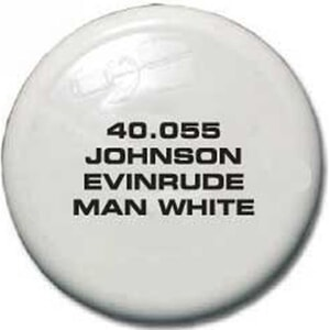 Johnson Evinrude Man White 40.055