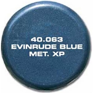 Evinrude Blue Metallic XP 40.063