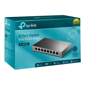 TP-LINK 8-port Metal Gigabit Switch 5 101001000M