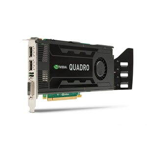 NVIDIA Quadro K4000 3GB PCI-E x16 Triple Head FH690 Cuda