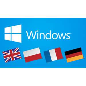 Windows 10 Language Installation