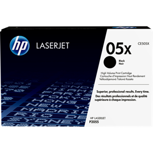 HP 05X High Yield Black Original LaserJet Toner