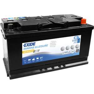 ES EXIDE EQUIPMENT GEL Batteri  80-120Ah