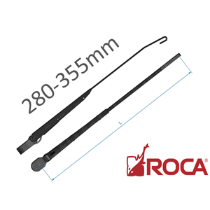 Roca Vinduspusserarm for W10 280-355 mm sort