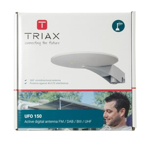 Triax Digital UFO-Marine Tv-Dab+ Antenne