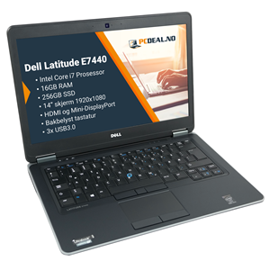 "Dell Latitude E7440 14,1""  i7-4600U 16GB/256SSD"