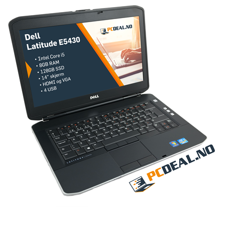 "Dell Latitude E5430 i5 128SSD 8GB-RAM 14"" 1600x900"