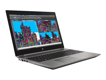 HP Zbook 15 G5 i7-8850H 16GB-RAM 512GB-SSD Quadro P2000