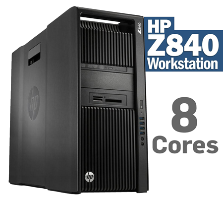 HP Z840 Workstation/Server 8Cores