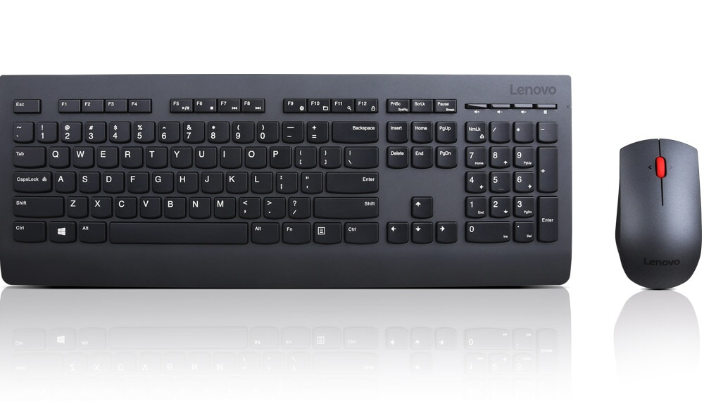LENOVO Professional Wireless Keyboard and Mouse Combo NOR